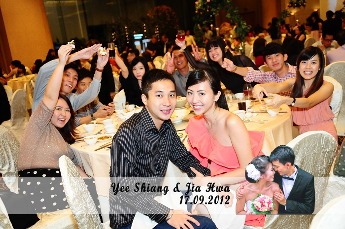 rsaf, military wedding, singapore,  grand copthorne waterfront, instant photography, instant prints, live photography, live projection, instant photocards