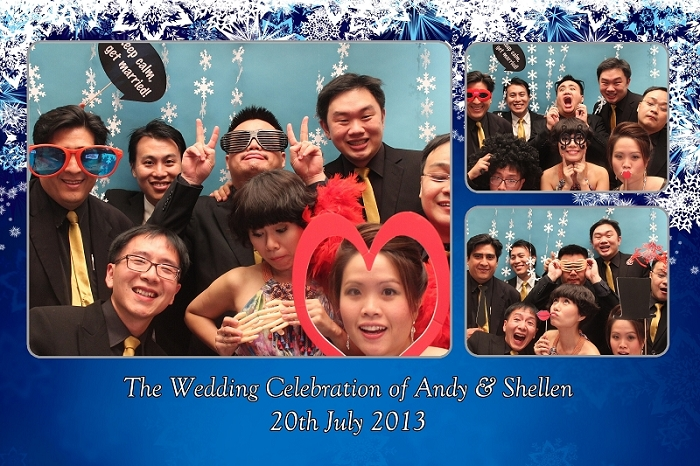 photobooth, instant prints, wedding, st regis, singapore