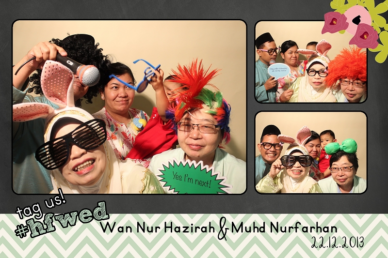photobooth, singapore, malay wedding,
