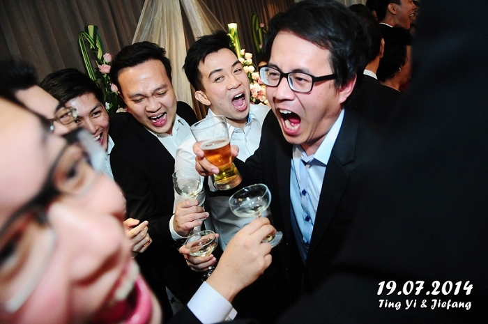instant prints, live photography, Singapore, military wedding
