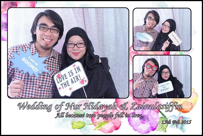 photobooth, singapore, instant prints, props, customise backdrop, live photography, photowall, malay wedding photobooth