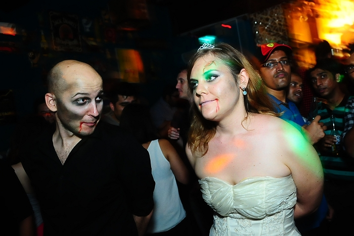 party photography, singapore, events, blu jaz, halloween