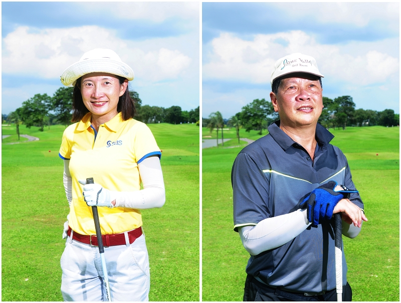 golf, portraits, instant prints, singapore, live photography, instant photography, golf photography