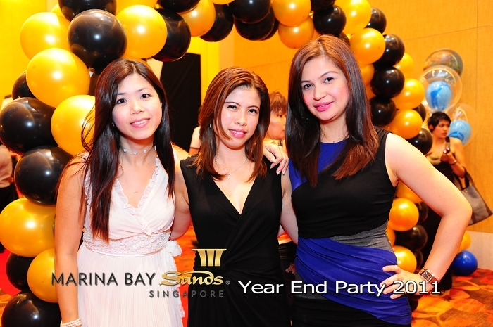 mbs, marina bay sands, year end party, dnd, events, singapore, instant prints, instant photography, live photography