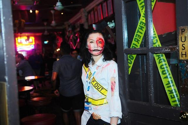 halloween, murder house,, events photography singapore, events, photography, singapore, emerald hill, party photography, singapore nightlife photography, nightclubs,
