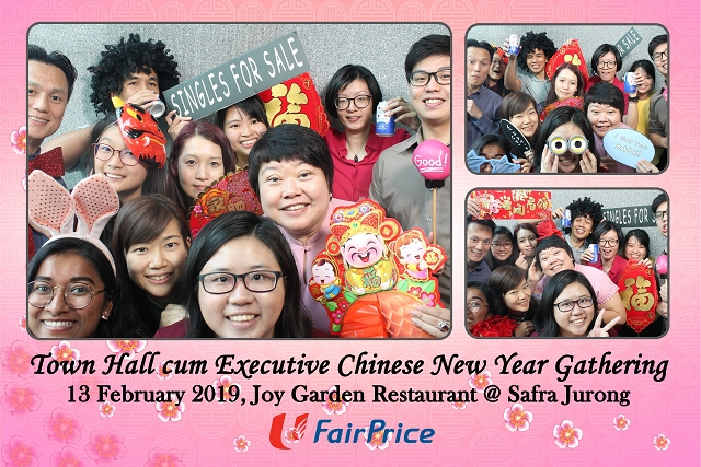Ntuc Fairprice Executive Chinese New Year Gathering